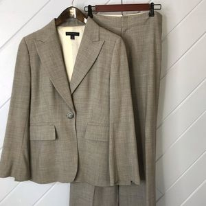 {Banana Republic} Suit Pants & Jacket Gray
